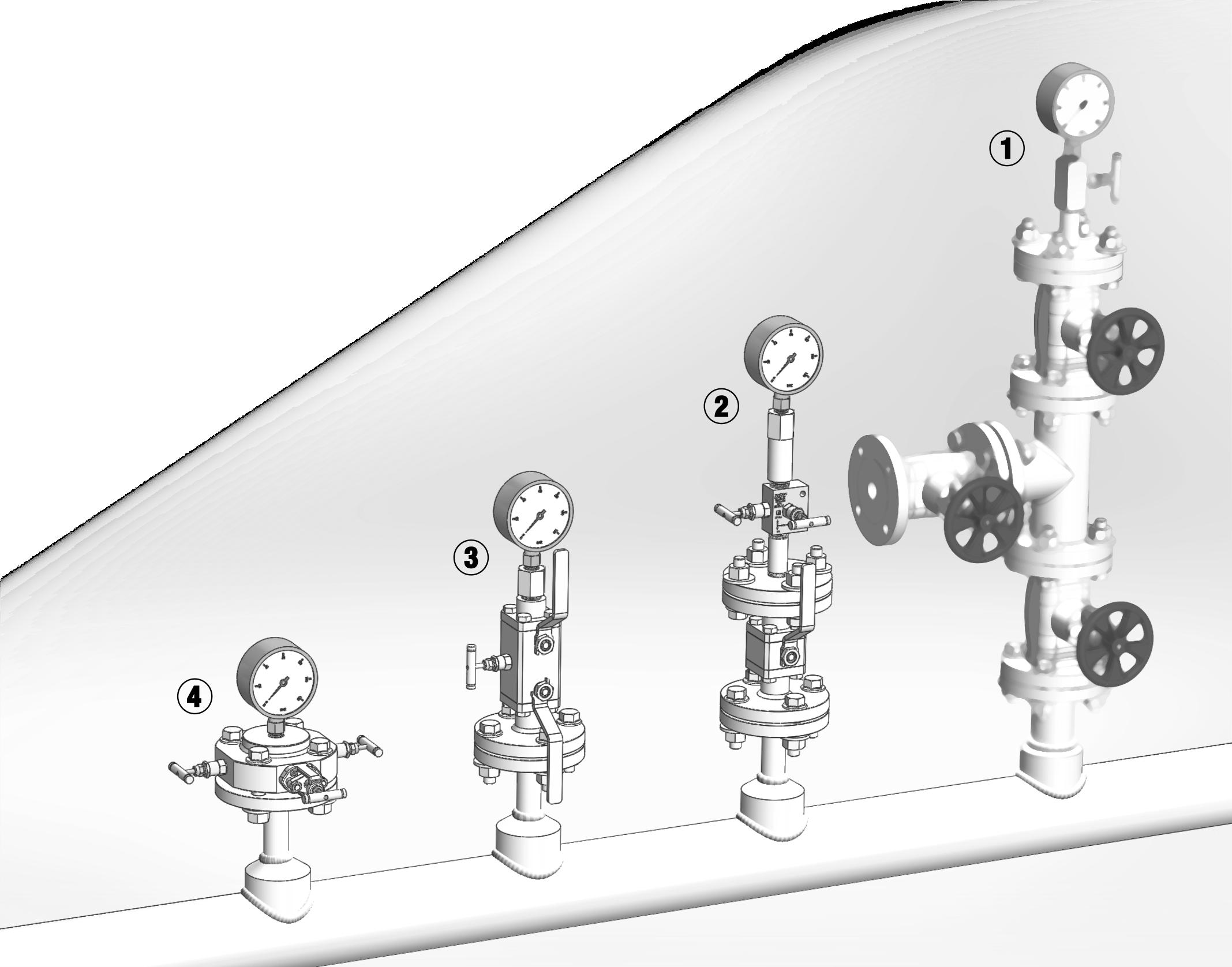 Технологические клапанные блоки